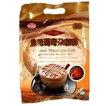 廣吉 焦糖瑪奇朵咖啡(17g*20包/袋)
