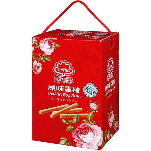 《喜年來》原味蛋捲大發禮盒(384g/盒)