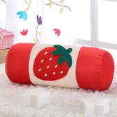 《星辰》可愛草莓圓棍靠/抱枕(草莓)