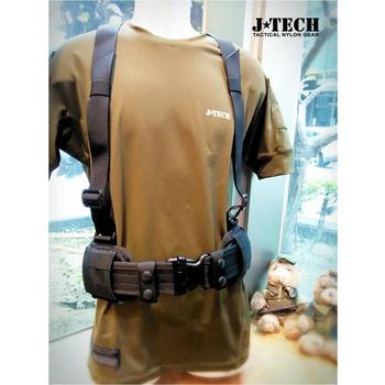 J-TECH Y帶 MOOLE 腰帶墊組-C款(黑色/M號)