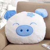 《星辰》粉彩小豬大頭枕-兩色可選(藍色)