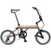 《ORI》C8 Classic 16吋 8速鋁合金折疊單車(不含後貨架)(陽極噴沙咖啡)