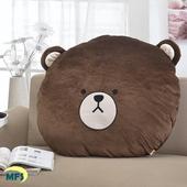《星辰》湯姆熊大臉枕(中)(中型枕)