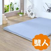 《戀香》菱格灰透氣雙人床墊(菱格灰透氣雙人床墊)