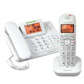 《ALCATEL 阿爾卡特》無線子母話機 XL300(白)