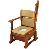 【海夫健康生活館】日本進口 輕巧便盆椅 (上掀式把手)
