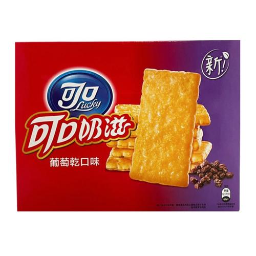 可口奶滋 葡萄乾口味量販包(309.6g/盒)