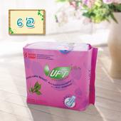 《UFT》蘆薈草本衛生棉-安心夜用(6包組)