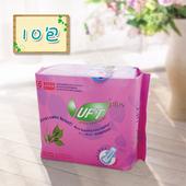 《UFT》蘆薈草本衛生棉-安心夜用(10包組)