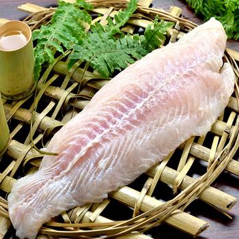 鮮活團購 鮮嫩巴沙魚片-下單滿12片免運費(150g±10% 片)