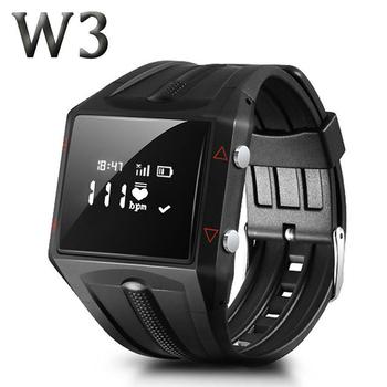 長江 W3 心率監測極限運動專用藍牙智慧腕錶(黑色)