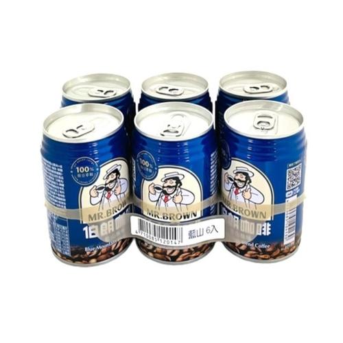《金車》伯朗藍山咖啡(24罐*240ml/箱)