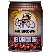 《金車》伯朗咖啡(24罐*240ml/箱)