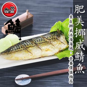 老爸ㄟ廚房 肥美挪威鯖魚(130G±10%/片)