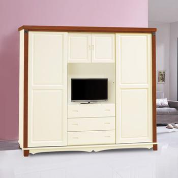 時尚屋 艾芙莉雙色7尺衣櫃(7尺衣櫃)