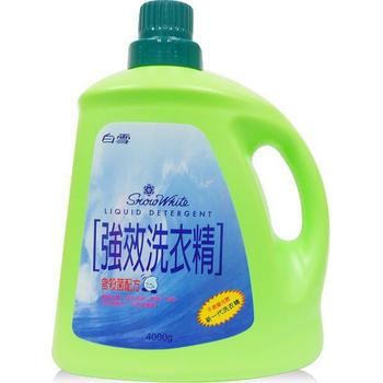★結帳現折★白雪 強效洗衣精(4000g)