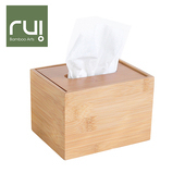 《Rui》台灣竹手工巧抽面紙盒(方型)
