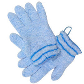 【海夫健康生活館】浴用手套(藍)