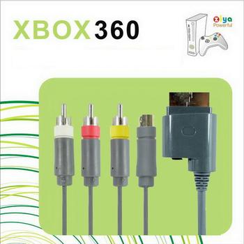 ZIYA XBOX360 AV視訊傳輸線 AV+S 端子頭 (一入)