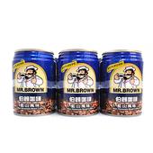 《金車》伯朗咖啡-藍山(240ml*6罐/組)