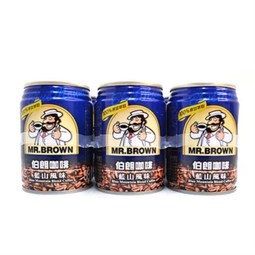 金車 伯朗咖啡-藍山(240ml*6罐/組)