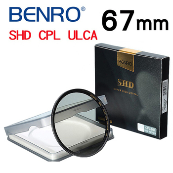 BENRO 百諾 67mm SHD CPL-HD UCLA WMC/SLIM 16層奈米超低色差鍍膜 薄框偏光鏡
