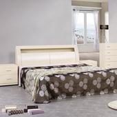 《時尚屋》弗格森6尺加大雙人床(白雪杉)