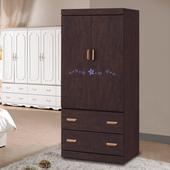 《時尚屋》榭爾曼3x6尺胡桃衣櫥