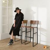 哥倫比亞曲木高腳椅/吧檯椅/兩色可選