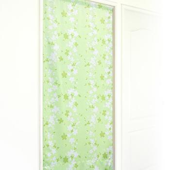 《布安於室》花葉遮光風水簾-淺綠