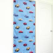 《布安於室》經典汽車遮光風水簾-藍色