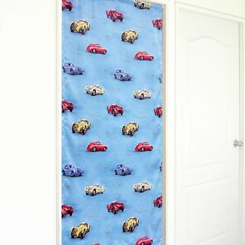 布安於室 經典汽車遮光風水簾-藍色