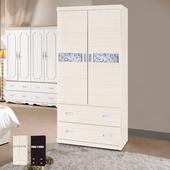 《時尚屋》水月3x6尺衣櫥(白雪杉)