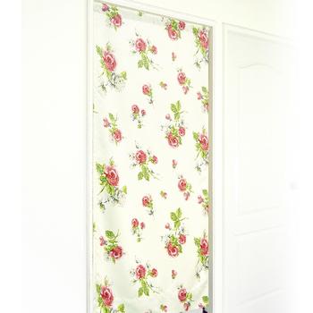 布安於室 紅薔薇遮光風水簾