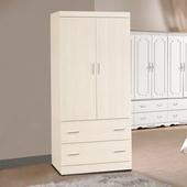 《時尚屋》弗格森3x6尺白雪杉衣櫥