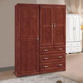《時尚屋》葛蘭傑4.64尺樟木色衣櫥