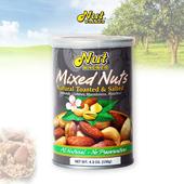 《Nuts Walker喜樂果》天然綜合堅果- 原味(2罐組)(130g/罐)