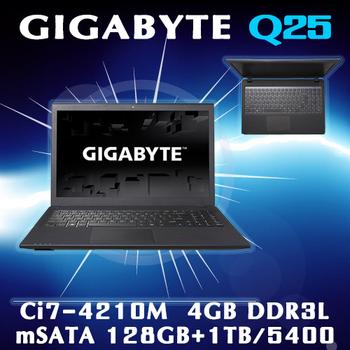 GIGABYTE技嘉 Q2556N V3 i5-4210M 疾速電競筆電(15.6吋)(電競筆電)