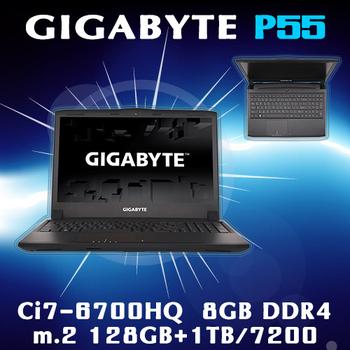 GIGABYTE技嘉 P55Kv5 15.6吋 i7-6700HQ GTX965 WIN10(電競筆電)