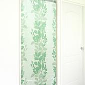 《布安於室》繁葉亮面遮光風水簾(3色)(綠色)
