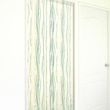 布安於室 琉袖遮光風水簾(3色)(綠色)