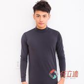 《3M-佳立適》蓄熱保暖衣-男高領-黑色(XL)