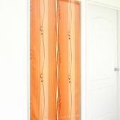 《布安於室》斯拉密遮光風水簾(紅橘色)