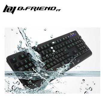 B.Friend GK2 防水LED發光遊戲鍵盤