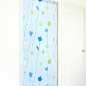 《布安於室》花影風水簾(藍色)