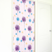 《布安於室》希蕾雅風水簾(3色)(紫色)