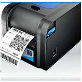 《TWSHOP》(贈40X30mm貼紙X10捲) BC-8015(黑色) 標籤機 POS 有剝紙器功能(另售QL-700/TTP-345/T4e標籤機 $4880