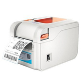 《TWSHOP》(贈35X25mm貼紙X10捲) BC-8015(灰白色) 標籤機 有剝紙器功能(另售QL-700/TTP-345/T4e(標籤機)
