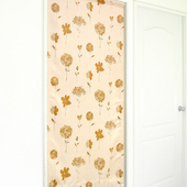 《布安於室》夏之花遮光風水簾-駝色