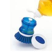 《GlideBuy》【日貨】可倒入清潔劑廚房清潔刷_K-237B